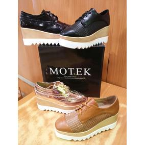 Zapatos De Damas Plataformas Motek Originales