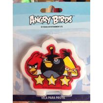 Velas Para Pastel Angry Birds