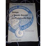 Geologia Y Recursos Naturales De La Provincia De Rio Negro