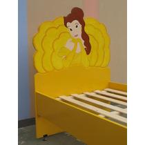 Cama De Princesas- Muebles Infantiles- Artesanales-