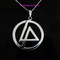 Dije De Linkin Park En Plata Ley 0.925 Vv4
