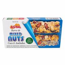 Barra Cereal Agtal Nuts Caixa Com 12 Barras Variadas Dt