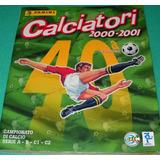 Album Panini Calciatori 2000-01 (completo) 100% Original