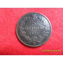 Italia Unida 5 Centesime 1861 Cobre Mbc