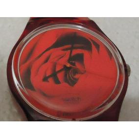 Reloj Swatch Red 1997 De Colección Como Nuevo