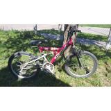 Bicicleta R.20 Con Suspension Delantera Y Trasera