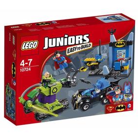Educando Lego Juniors 10724 Batman Y Superman Vs Lex Luthor