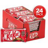 Chocolate Nestle Kit Kat 45g Caixa Fechada C/ 24 Unidades