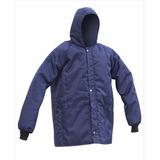Japona Térmica Impermeável 35ºc Azul Para Câmara Fria