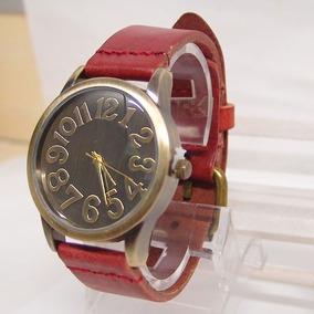 Reloj De Pulsera, Rojo, Analogo, Exclusivo