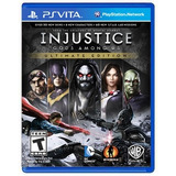 ..: Injustice Gods Among Us - Ultimate Edition :. Para Psv