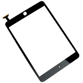 Mica Tactil Ipad Mini Digitizer Repuesto Blanco Negro Apple