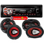 Combo Stereo Pioneer Deh 1850 Usb Cd + 4 Parlantes 6x9 & 6,5