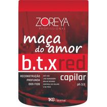 Botox Matizador Vermelho 1 Kg Zoreya Profissional Frete Grat