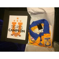 Jersey Tigres Adidas Edición Especial Campeón 2015