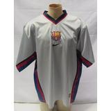 Camisa De Futebol Do Barcelona Nike 1998 1999 2000 2001