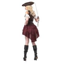 Disfraz Sexy Pirata Mujer Halloween Dama Traje
