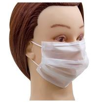 Máscara Descartável Em Tnt Com Elástico Pacote 100 Un