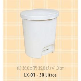 Lixeira São Bernardo Lx01 30 Litros