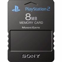 Memory Card Ps2 8mb 100% Nuevo Sellado