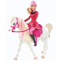 Barbie Y Sus Hermanas En Un Cuento De Tren Pony Y Paseo Del