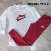 Conjunto Deportivo Adidas Y Nike Para Damas Sueters Y Mono