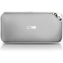 Caixa De Som Philips Bt3500w Bluetooth Sem Fio Branca Bt3500