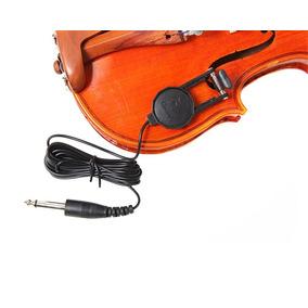 Captador Para Violino Profissional Vilão Cavaquinho Ukelele