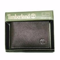 Billetera Timberland Original 11x9cms Aprox. Café Cod 7578