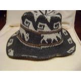 Sombrero De Hombre Hecho A Mano Del Norte Argentino