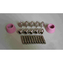 22 Piezas Consumibles Para Antorcha Plasma Sg 55 Ag 60