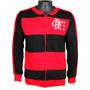 Agasalho Retrô Flamengo Rubro Negro Jaqueta