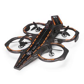 Dron Portaaviones Anfibio Se Desliza Por Suelo/agua/aire