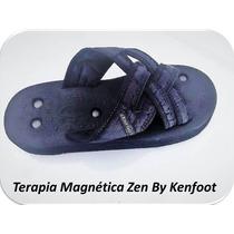 Chinelo Trançado Magnético, Do-in, Ortopédico E Flex Kenfoot
