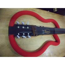 Ramá Original Red Violão Vazado Luthier Silent Guitar Frame