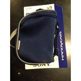 Estuche Funda Soft Case Sony Azul Para Videocámara Handycam