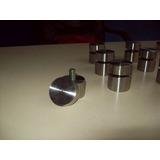 Soporte De Aluminio Y Acero Para Carteles De Vidrio