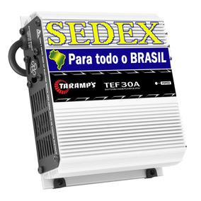 Fonte Automotiva Taramps 30 Ampers Tef-30 Bi-volt + Sedex