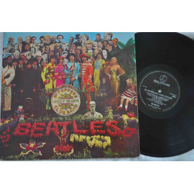 Beatles, Sgt Peppers, Lp, Vinil Importado Selo Parlophone