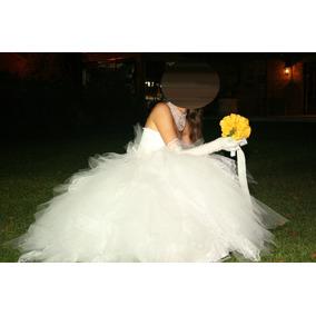 Vestido De Novia Diseño Gabriel Lage - Divino !