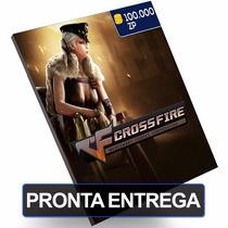 Cartão Crossfire 100.000 100k Zp Cash Card Pc
