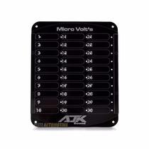 Painel Micro Volt Ajk Para 30 Voltimetros 12v Hv
