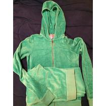 Juego De Pants Color Verde Agua Marca Juicy Couture Talla Xs