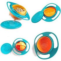 Bebé Kid Niño Niña Gyro Juguete Alimentación Platos Bowl,