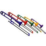 Trombón Tenor De Plástico Pbone Todos Los Colores