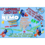 Kit Imprimible Candy Bar Buscando A Nemo! Muy Completo!! 2x1