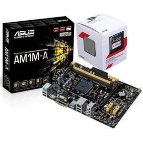 Kit Placa Placa Mãe Asus Mais Processador Amd Sempron