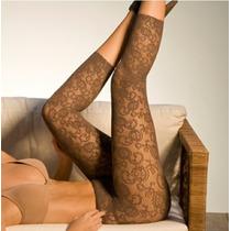 Meia Legging Rendada Trifil Linda X06141 Sexy Corsário