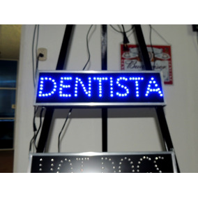 Anuncio Luminoso Led Para Dentista /letrero Led Dentista Rg