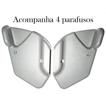 Par Alavancas Lateral Banco Uno / Palio 2 Portas Cor Cinza